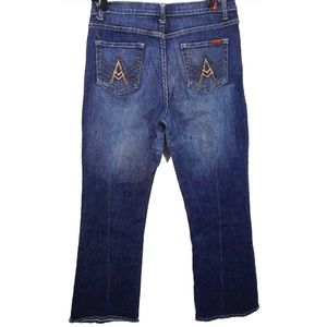 "7FAM Seven For All Mankind ""A"" Pocket Size 30"
